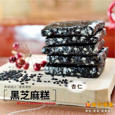 每日優果 杏仁黑芝麻糕(200g)