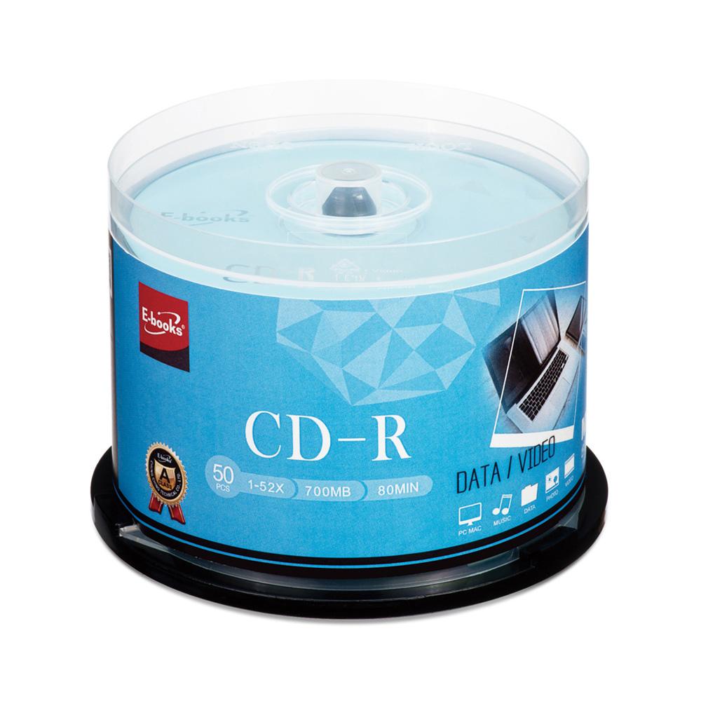 【6入】晶鑽版 52X CD-R 50片桶(300片)