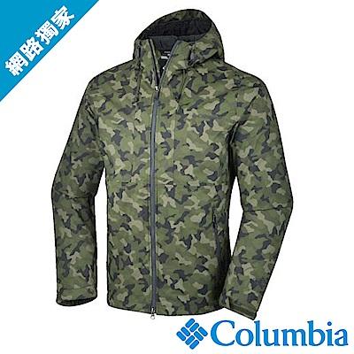Columbia哥倫比亞 男款 OT 連帽外套迷彩 (URE10410NC)