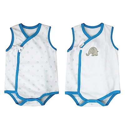 baby童衣 包屁衣兩件組 純棉無袖兔裝 90045