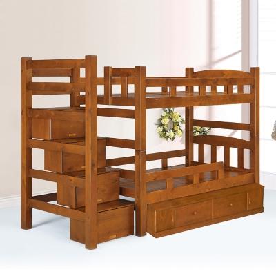 Boden-喬傑大容量抽屜雙層床架
