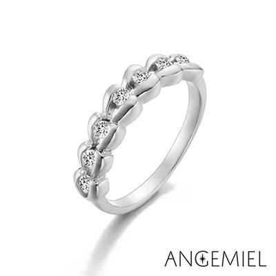 Angemiel安婕米 925純銀戒指 愛情來了