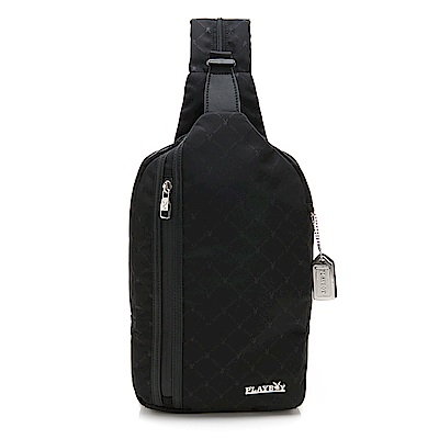PLAYBOY 單肩背包 Formula 7.0系列 黑色 191-7002-09-7