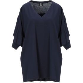 《セール開催中》GIN & GER レディース T シャツ ダークブルー one size コットン 100%