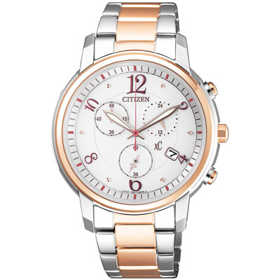 CITIZEN xC  俏皮美眉時尚腕錶-FB1435-57A-37mm