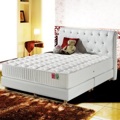 MG珍寶-最高等級蠶絲+乳膠抗菌硬式獨立筒床墊-單人3.5尺
