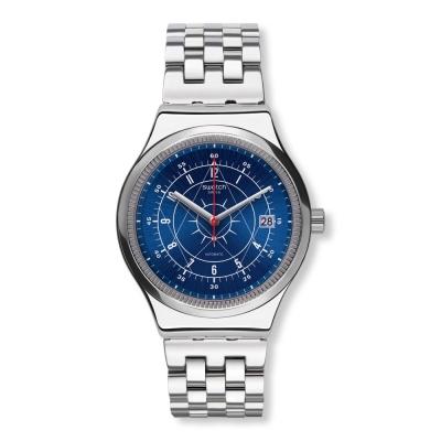 Swatch 51號星球機械錶 SISTEM BOREAL 冰凍之心手錶