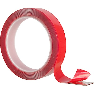 黏TT 透明無痕強力雙面貼二捲 (2x300x0.1cm)