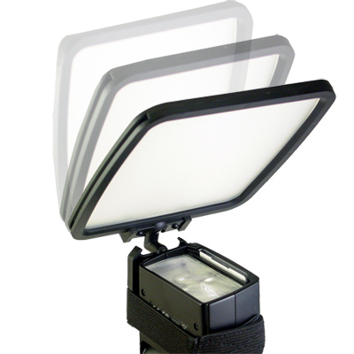 Piyet機頂閃燈多功能反光板/柔光器