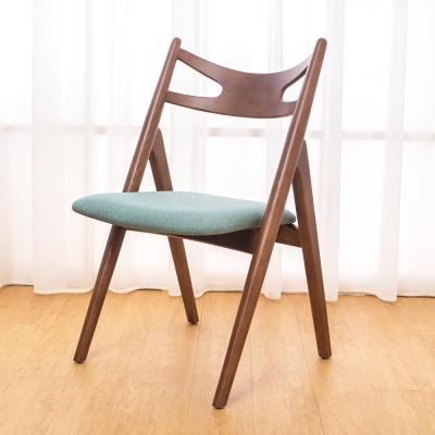 Boden 米洛實木餐椅 單椅 53x60x88cm
