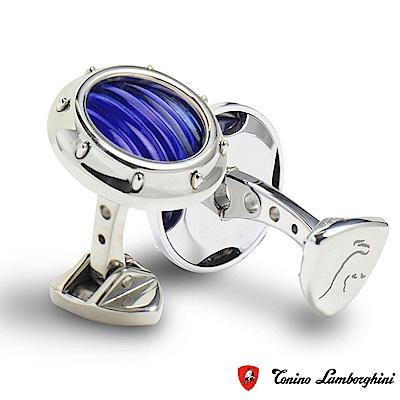 藍寶堅尼Tonino Lamborghini LUCE Blue 袖釦