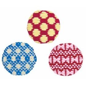 オリムパス製絲 こぎんキット くるみボタン ちょう 3個セット こぎん58