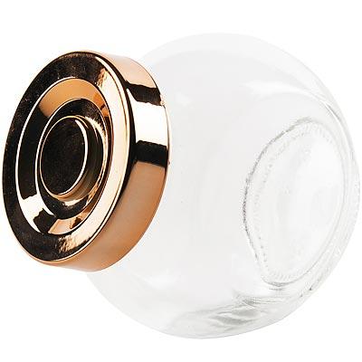 《EXCELSA》仿銅面罐蓋玻璃收納罐(150ml)