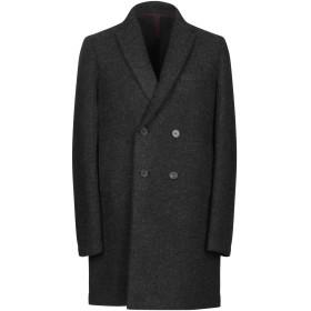《9/20まで! 限定セール開催中》HARRIS WHARF LONDON メンズ コート スチールグレー 46 バージンウール 100%