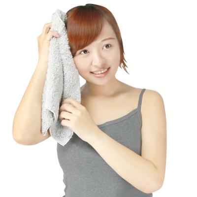 源之氣 竹炭極超細纖維柔軟毛巾30*60cm/3入 RM-10018