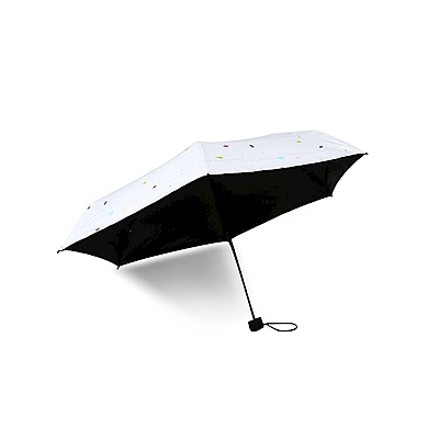 超輕遮陽兩用黑膠折疊傘 2入(CS-UB01)