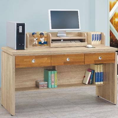 品家居 黛樂5尺書桌/電腦桌-151.5x57.8x101.5cm-免組