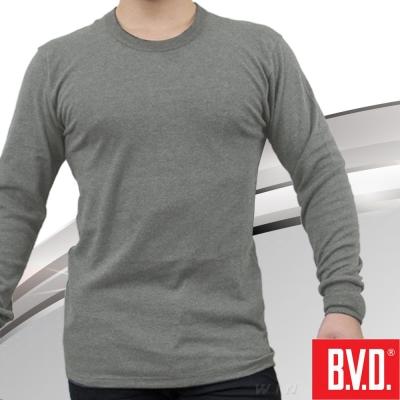 BVD 棉絨圓領長袖衫