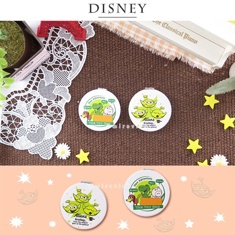 Disney迪士尼 玩具總動員圓型折鏡 雙面鏡_插畫風