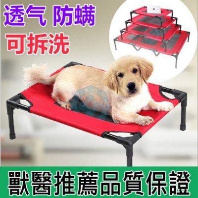 Hello baby小舖 HB068 寵物床 寵物折疊床 寵物涼床 寵物架高床 寵物彈簧床 貓床 行軍床-M號
