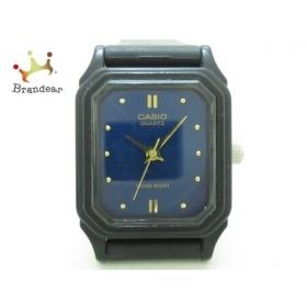 カシオ CASIO 腕時計 LQ-142 レディース ラバーベルト ブルー×黒 新着 20190618