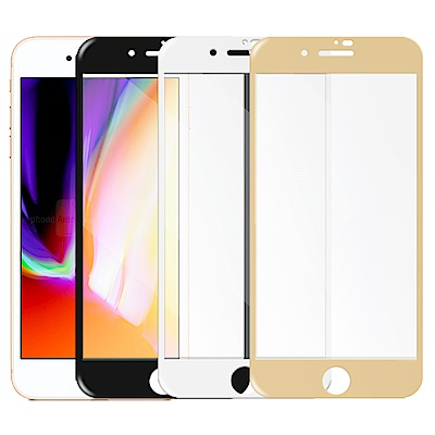 Metal-Slim Apple iPhone 8 Plus 滿版鋼化玻璃保護貼