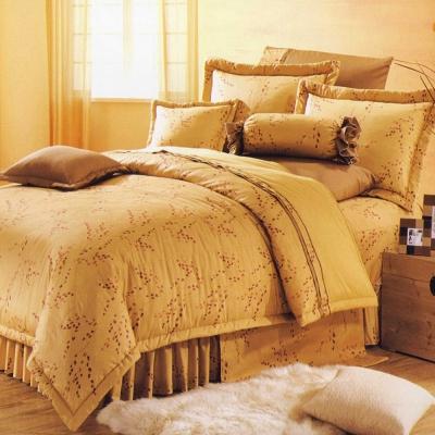 艾莉絲-貝倫 花戀物語 100%純棉 雙人特大薄被套床包四件組
