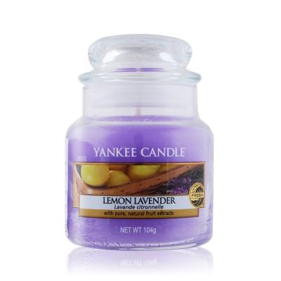 YANKEE CANDLE香氛蠟燭-檸檬薰衣草104g