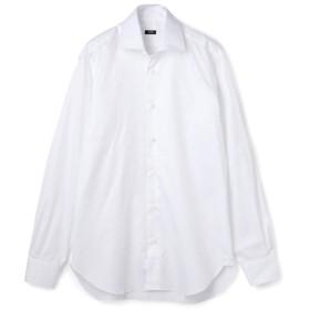 BARBA セミワイドカラーシャツ MILANO/5005T/5006T ホワイト/37(エストネーション)◆メンズ シャツ/ブラウス