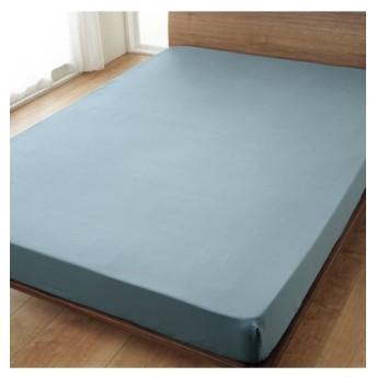 綿100%サテン織りベッドシーツ(マットレス用) ベッドシーツ・敷布団カバー