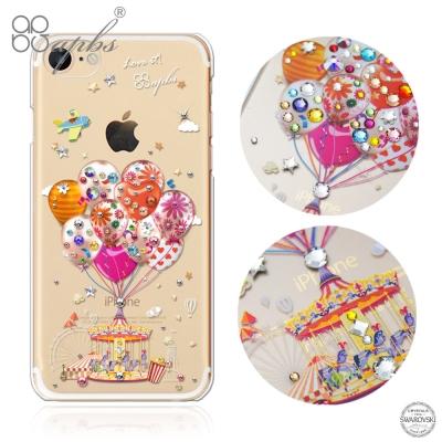 apbs iPhoneSE(第二代/2020)/8/7 4.7吋施華洛世奇彩鑽手機殼-夢想氣球
