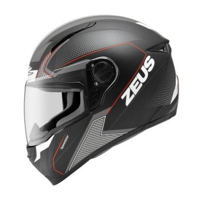 [安信騎士] ZEUS 瑞獅 ZS-811 ZS811 AL6 消光黑白紅 全罩 安全帽