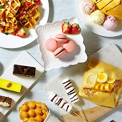 台北花園酒店 饗聚廚房平日午/晚餐券4張