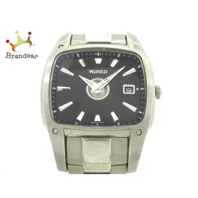603f8788c2 ワイアード WIRED 腕時計 7N452 メンズ 黒 新着 20190618 通販 LINE ...