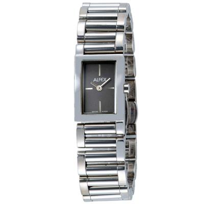 【ALFEX】簡約時光都會腕錶(黑)