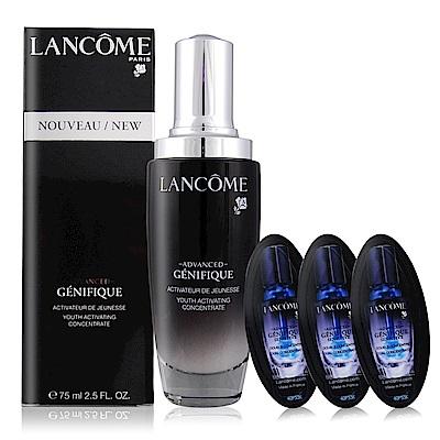 LANCOME 蘭蔻 超進化肌因賦活露75ml贈肌因活性安瓶4mlX3