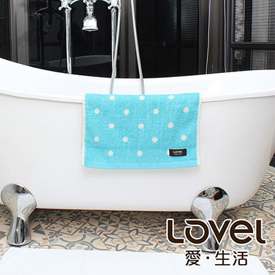 Lovel 專利咖啡紗除臭抗UV圓點毛巾(共4色)