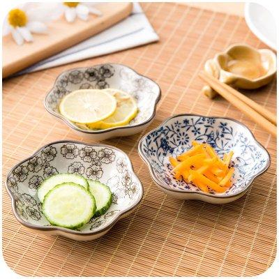日式調味碟家用餐碟味碟骨碟 創意陶瓷餐具菜碟盤子小碟子JJ037