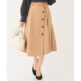 any SiS エニィスィス フロントイレギュラーヘムフレア スカート