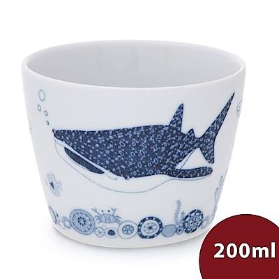 日本Natural69 波佐見燒 CocoMarine系列 日式茶杯 200ml 豆腐鯊 日本製