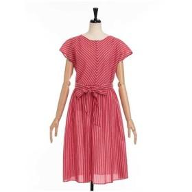 LESTERA / 先染めストライプドレス