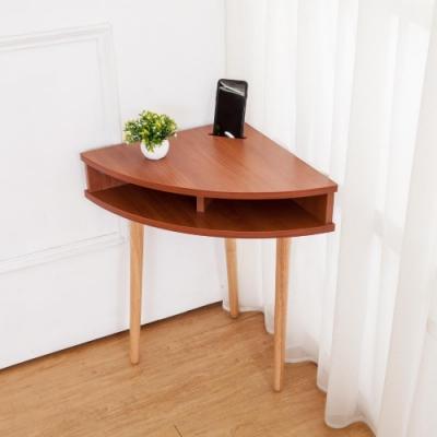 Boden-三角造型邊几/牆角小茶几/邊桌-手機擴音功能-DIY-45x45x62cm