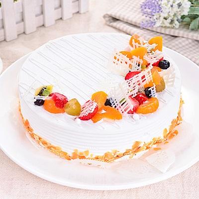 樂活e棧 生日快樂蛋糕 典藏白之翼 8吋