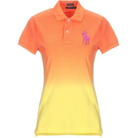 《期間限定セール開催中!》POLO RALPH LAUREN レディース ポロシャツ オレンジ XS コットン 100%