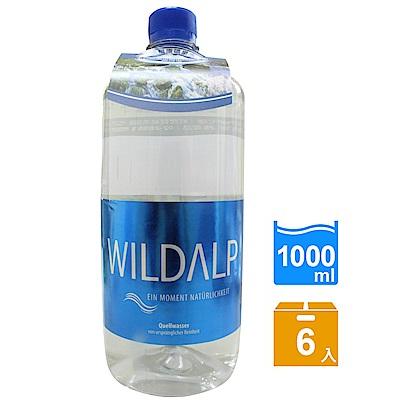 WILDALP 奧地利天然礦泉水(1000mlx6瓶)