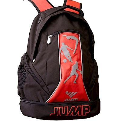 JUMP MIT 多功能護脊後背包6200黑紅