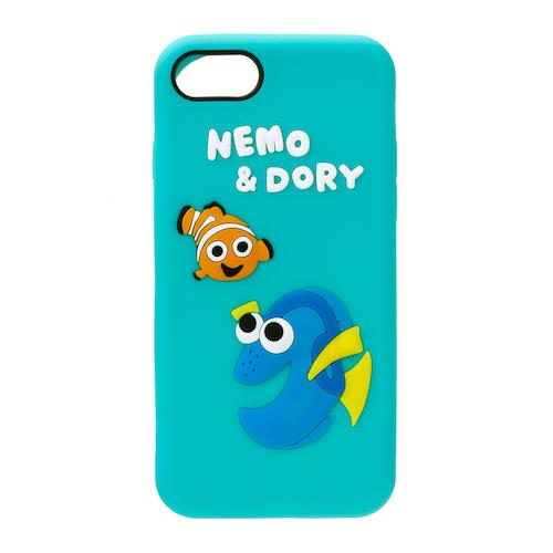 iPhone 8/7  可愛矽膠系列(日本 海外限定版) -尼莫與多莉