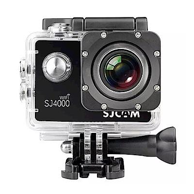 [超值雙電組] SJCAM SJ4000 Wifi 防水型運動攝影機 (公司貨)