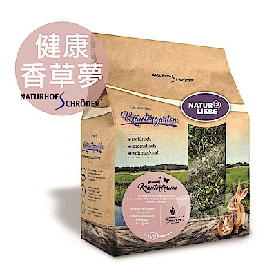 即期良品 德國施羅德 全天然綜合草本/健康香草夢/寵物鼠兔飼料(粉款)500g-85853