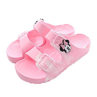 魔法Baby 童 台灣製迪士尼米妮正版輕量拖鞋 sk0448